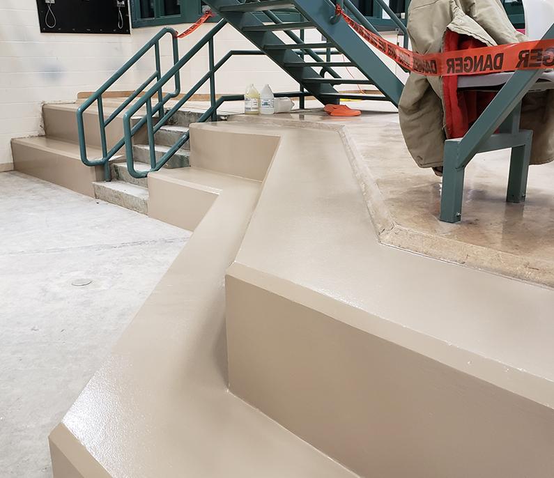 epoxy wall coating calgary - coated floors