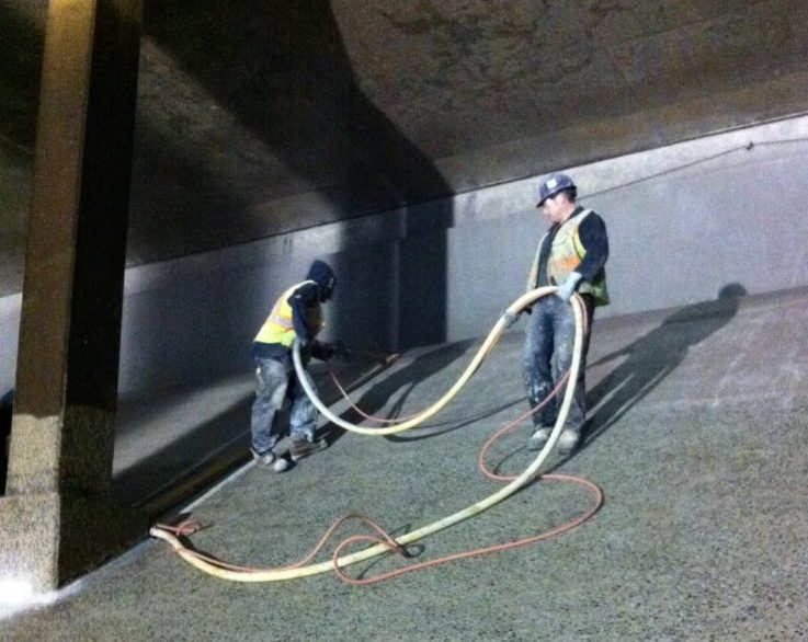 concrete waterproofing calgary - concrete solutions workers